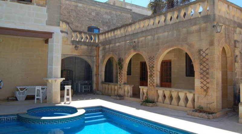 Relax a Gozo in Farmhouse con Piscina