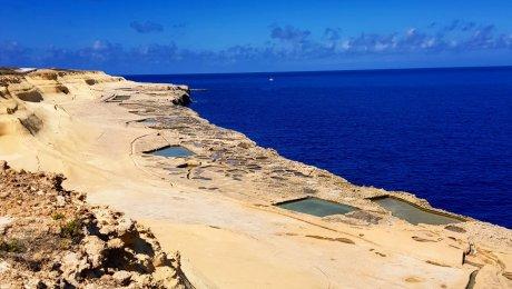 Gozo: trekking e bici nell'isola di Calipso