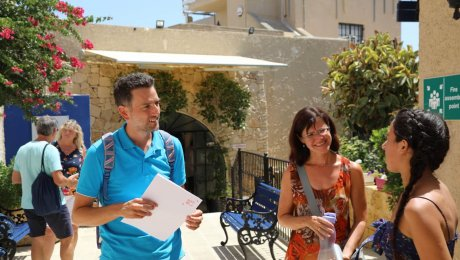 Experience learning English in Gozo